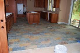 Slate Flooring For Kitchen Slate Kitchen Flooring Afreakatheart