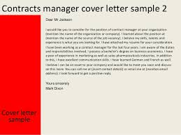 contracts manager cover lettercover letter sample yours sincerely mark dixon    contracts manager