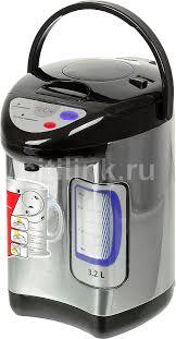 Купить <b>Термопот SINBO SK 2395</b>, черный и серебристый в ...