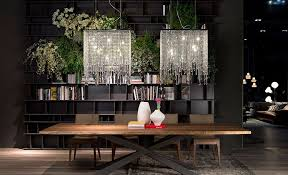 hottest finds trio of sparkling ceiling lamps with glassy panache ceiling pendants lighting