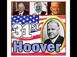 「Herbert Clark Hoover, president」の画像検索結果