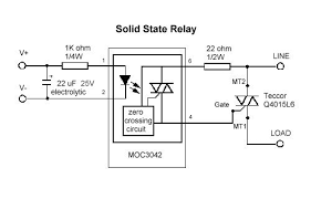 how relays work relay diagrams relay definitions and relay types a relay diagram of a solid state relay circuit