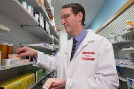 a cvs pharmacist stocks the opoid overdose reversal drug naloxone