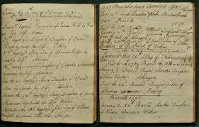 the rest of the story on food farming and 1789 baptisms burials