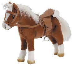 Купить <b>Лошадь Gotz</b> коричневая с седлом и уздечкой (3401099 ...