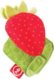 <b>Happy Baby Браслет</b>-<b>погремушка</b> Juicy Strawberry 330348, код ...