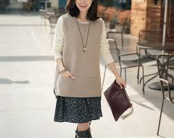 BELIARST <b>Spring and Autumn New</b> Cashmere Knit Vest Woman ...