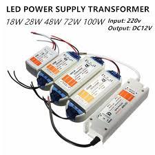 <b>led power supply led</b> transformer <b>12v led</b> driver 5W 18w 28w 48w ...