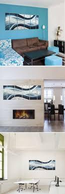 iron wall decor u love: blue desire large metal wall art