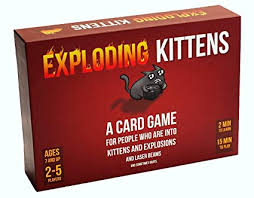 Exploding Kittens Card Game - Family-Friendly Party ... - Amazon.com