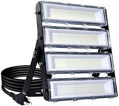 200W <b>LED</b> Flood <b>Light</b> Outdoor, <b>18000lm</b> 6000K <b>Super</b> Bright Yard ...