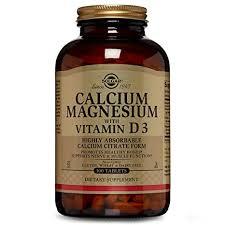 Buy Solgar, <b>Calcium Magnesium with Vitamin</b> D3, 300 Tablets ...