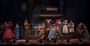 theater review a christmas carol goodman theatre in chicago  the cast of a christmas carol at goodman theatre