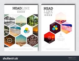 business brochure design template vector flyer stock vector business brochure design template vector flyer layout blur background elements for magazine