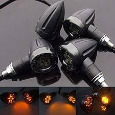D DOLITY <b>4pcs</b> Turn Signal Light -<b>Motorcycle</b> Lights Indicators ...