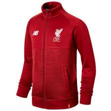 Boys Jackets Football Grey Jackets <b>Liverpool FC</b> 18/19 <b>Elite</b> ...
