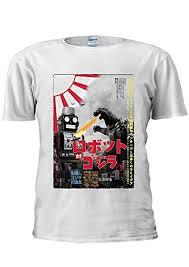 <b>Tokyo</b> Tin Robot Godzilla Top <b>Fashion</b> Japan Japanese Unisex <b>T</b> ...