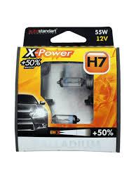 "<b>Лампы</b> галогенные головного света ""X-Power""+50%, H7-12V, 55W ..."