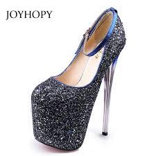 JOYHOPY Heel Height 20CM <b>High</b> Heels <b>Women</b> Sexy Party ...