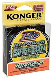 Konger <b>Fishing</b> Line HP HI-Power Fluorocarbon Coated ...