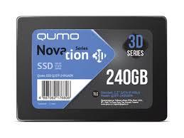 <b>Твердотельный накопитель Qumo</b> Novation TLC 3D SSD 240Gb ...