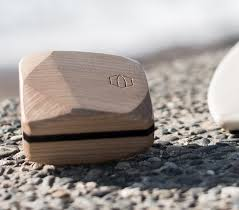 Handmade wooden surf accessories - Surf Wax Box & Wax Comb