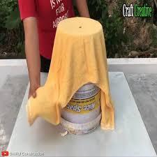 Craft <b>Creative</b> - DYI Ideas - <b>Creative</b> from towels and cement <b>2 in 1</b> ...