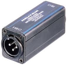 <b>Neutrik NADITBNC</b>-<b>M</b> адаптер AES/ABU, BNC 75Ом вход - XLR ...