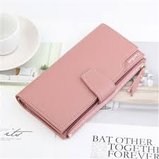 <b>Women</b> Coin PU Leather <b>Multi</b>-<b>card Bit</b> Long Paragraph Purse ...