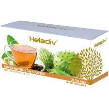 Купить <b>чай чёрный Heladiv</b> Soursop Black Tea 25 пак в интернет ...
