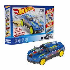 <b>Сборная модель Hot</b> Wheels D-Muscle (1Toy) Т16457 | Детский ...