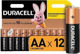 Купить <b>AA Батарейка</b> DURACELL Basic LR6-12BL MN1500 в ...