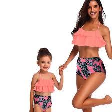 Women's <b>Mother</b> or <b>Daughter</b> 2 Piece Matching Bikini <b>Swimwear</b> ...
