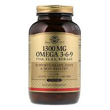 <b>Солгар Комплекс</b> жирных кислот 1300 мг <b>Омега 3-6-9</b> капсулы ...
