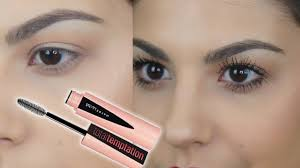 NEW <b>Maybelline Total Temptation Mascara</b> Demo & Review ...