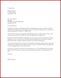 teacher resignation letter to principal sendletters info teachers resignation letter 5 by ne2yghvn