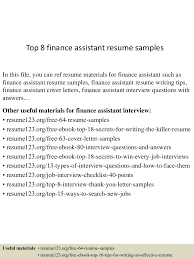 topfinanceassistantresumesamples conversion gate thumbnail jpg cb