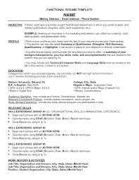 functional resume template com functional resume template is catchy ideas which can be applied into your resume 16