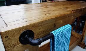 diy wood bar build your own rustic furniture