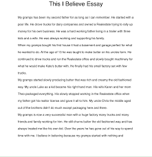 this i believe essay life long writers project overview website picture