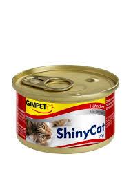 "<b>Консервы</b> ""Курица"" Shiny Cat, 70 г <b>Gimborn</b> ‣ Цена 43 грн ..."