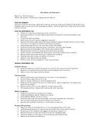 retail job descriptions com retail job description for resume sample position summary