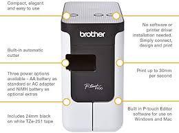 <b>Brother PT</b>-<b>P700</b> Label Maker, USB 2.0, P-Touch Label Printer ...