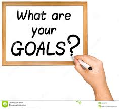 hand writing goals question marker whiteboard stock photo image hand writing goals question marker whiteboard