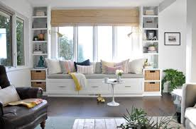 window seat built ins in living room diy build living room built ins