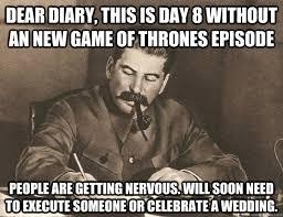 Stalin Dear Diary memes   quickmeme via Relatably.com