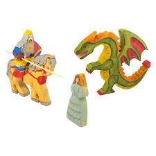 <b>Рыцарь на коне</b>, дракон, принцесса (сказки дерева), арт. 10006 ...