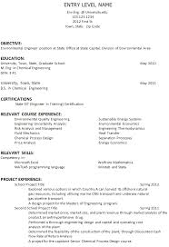 Resume Examples  Objective of Resume for Freshers  mechanical     happytom co