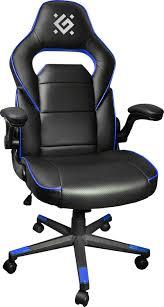 Игровое <b>кресло Defender Corsair</b> CL-361, Экокожа, черный, синий