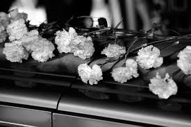 Image result for black and white casket